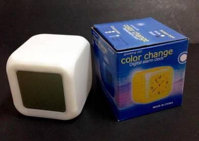 MoodiCare Colour Change Digital Alarm Clock