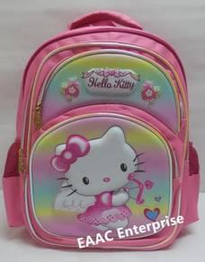 Big 3D Hello Kitty Primary Secondary School Bag Ba