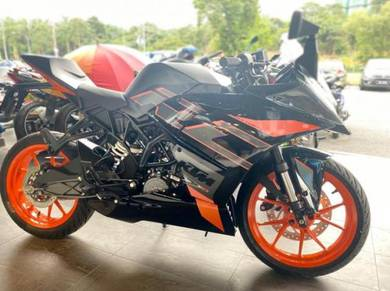 Ktm rc200 easy apply easy approve ready stok