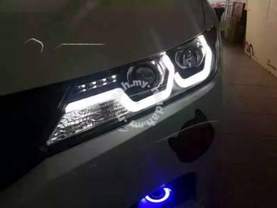 Honda city projector head lamp 14 to 15 light FF