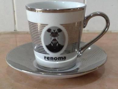 Cawan piring renoma cup saucer