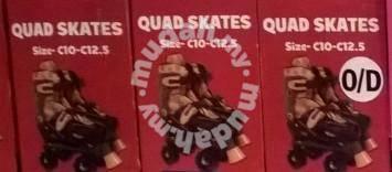No Fear Spirit Skate (Retro Quad Roller Skate)