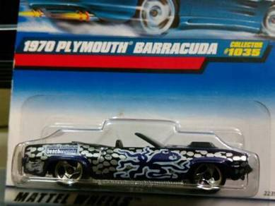 1999 Hotwheels 1970 Plymouth Barracuda