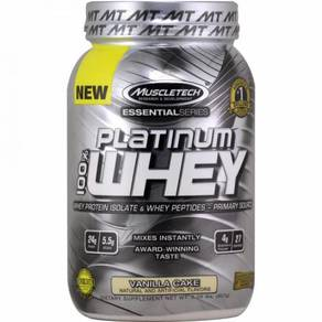 Muscletech susu vanilla platinum whey isolate