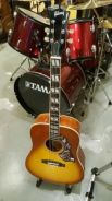 Gibson Hummingbird acoustic guitar with fishman EQ
