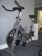 Home gym bike
