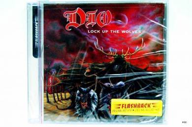 Original CD - DIO - Lock Up The Wolves [1990] NEW