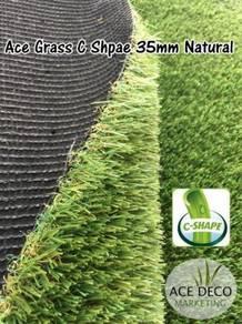 Premium Artificial Grass / Rumput Tiruan C-Shape