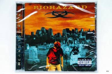 Original CD - BIOHAZARD Means To An End [2005] NEW