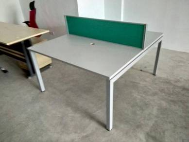 OFFICE / INDOOR / Table with Partition 2 in 1