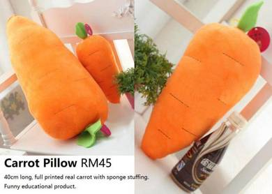 Carrot Pillow