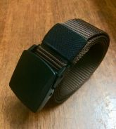 Nylon Belt Brown Airports Friendly