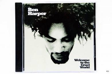 Original CD BEN HARPER Welcome Cruel World [1994]