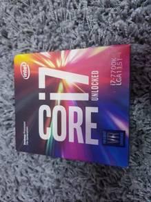 Intel CPU i7 7700k