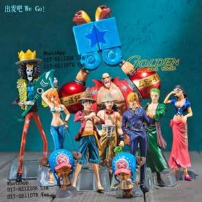 One Piece 2Years Latter Action Figures 10pcs-set