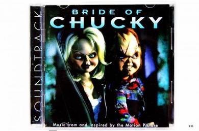 Original CD BRIDE OF CHUCKY [1998] OST Soundtrack