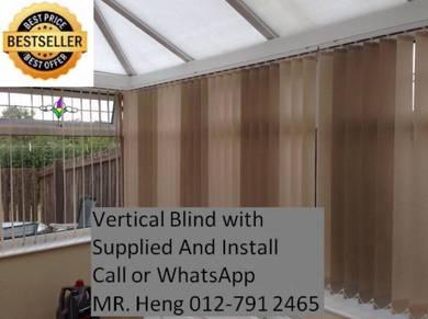 Elite Vertical Blind - With Install 9ej1ej021