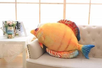 Tropical Fish Pillow