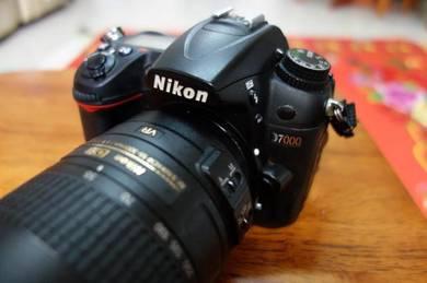Nikon D7000 (55-300mm lens)