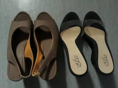 2 pasang heel