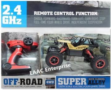 2.4G 4WD Remote Control RC Car Truck Jeep