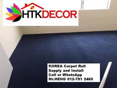 Corat Baru Karpet Roll Siap Pasang AK36