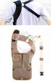 Anti Theft Underarm Tactical Tablet Bag Desert Tan