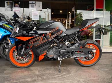 Ktm rc200 readystock low deposit easy apply