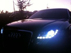 Audi A4 B7 Projector Headlights with LED DRLs