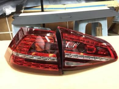 Volkswagen VW Golf R MK7 LED tail lamp tail light