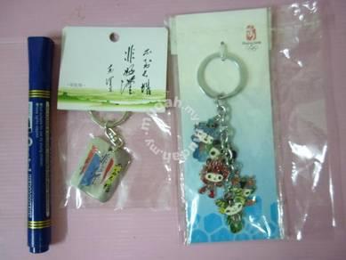 Beijing 2008 Olympic Keychain