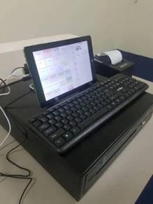 Touch Screen Mesin Cashier POS Tab Win 10 Vr-uusli
