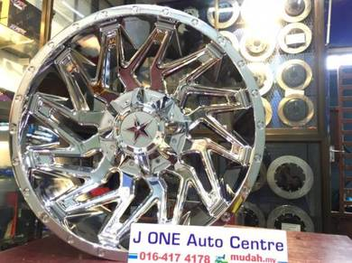 Offroad star wheels 20inc fj cruiser fortuner
