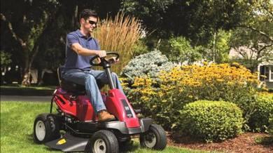 ROVER Mini Ride On Lawn Mower 420cc B&S Engine