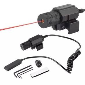 Tactical Laser Sight With Mount