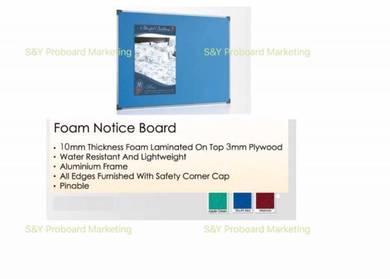 4X8 Foam Notice Board