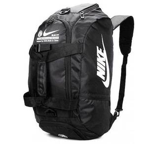 Nike Large Waterproof Travel Duffel Bag Backpack