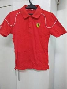 T- shirt Berjenama Puma Ferrari Design Original