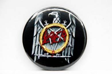 Badge MAGNET - SLAYER - Eagle Logo CD