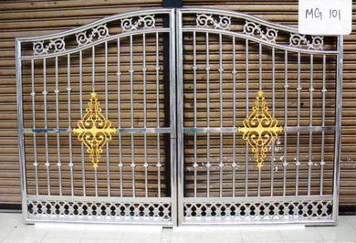 MG101 Stainless Steel Gate Series (Ready Stock)