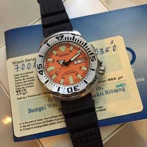 Seiko Orange Monster SKX781