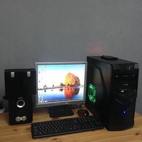 Intel Core i3 Gaming Pc Complete Set