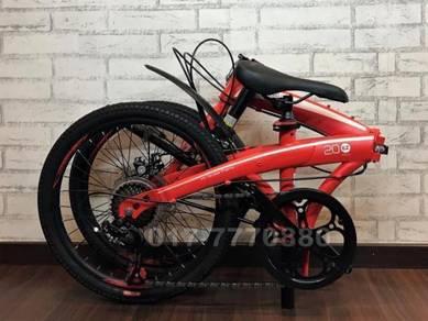 MONGOOSE 7SPD SHIMANO Basikal FOLDING BIKE Bicycle