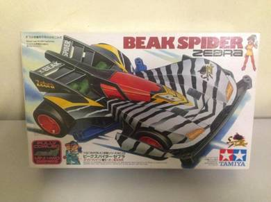 Tamiya Mini 4wd Beak Spider Zebra