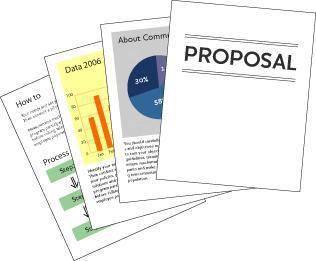Proposal perniagaan / KERTASKERJA /Akaun Syarikat