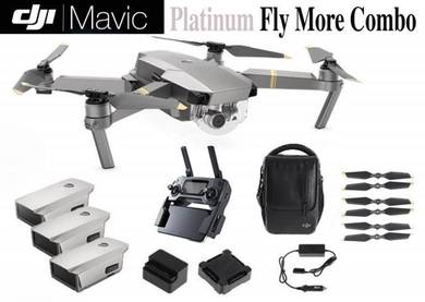DJI Mavic Pro Platinum Fly More Combo Package