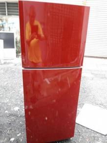 Freezer Red Peti Sejuk Samsung Refrigerator Fridge