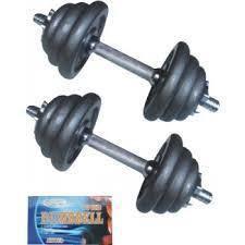 RSL dumbell 10kg berat dumbell gym