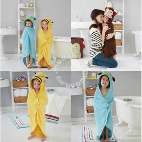Kids hooded bath towel / tuala kanak2 12