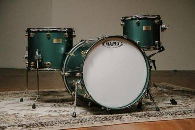 Mapex Orion Classic Caddy Green Gold lugs Yamaha